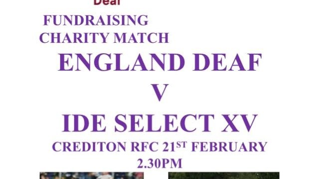 Ide Barbarians to play an England select side