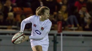 Saracens and ex Tring  player - Zoe Harrison in England Ladies Squad for Autumn Internationals