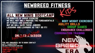 Mini section Fitness Session this Saturday