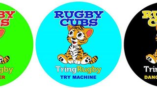 Rugby Cubs - for boys and girls aged 3 to 5 at TringRugby