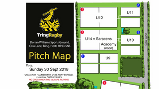 Sunday 30th September - Pitch Allocations