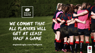 TringRugby commitment to half a game in Mini and Juniors