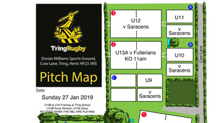 Sunday 27th January at TringRugby