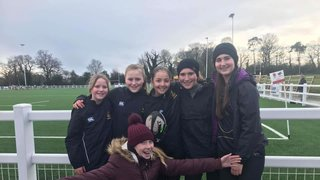TringRugby Girls section first joint training and matches with Hertfordshire clubs
