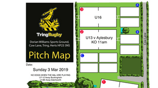 Sunday 3rd March at TringRugby