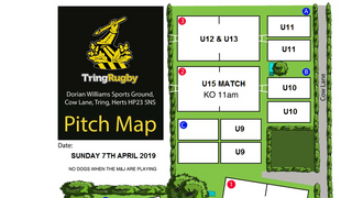 Sunday 7th April 2019 @ TringRugby