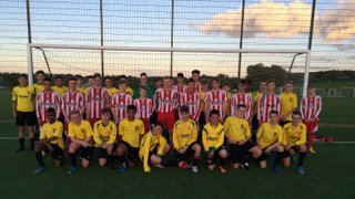 Excellent Football played at BCFC Academy