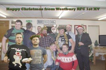 Happy Christmas from Westbury 1st XV