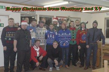 Happy Christmas from Westbury 2nd XV