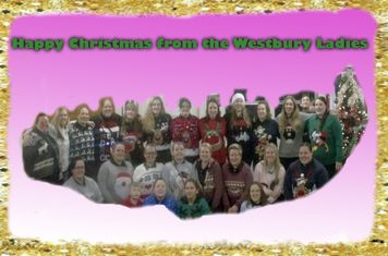Happy Christmas from Westbury Ladies