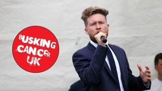 Busking Cancer UK 24/05/15