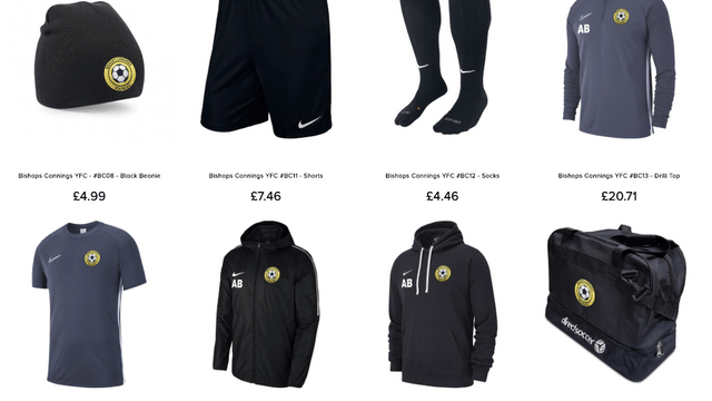 Bishops Cannings YFC - Training Kit now Available to Order