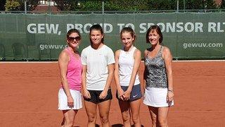 Junior Girls Help Ladies 1st Team to Victory