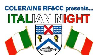 Italian theme night at the club....... 3 March