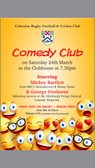 Comedy Night at Coleraine RFCC