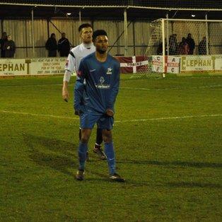 Match report - Faversham Town (a)
