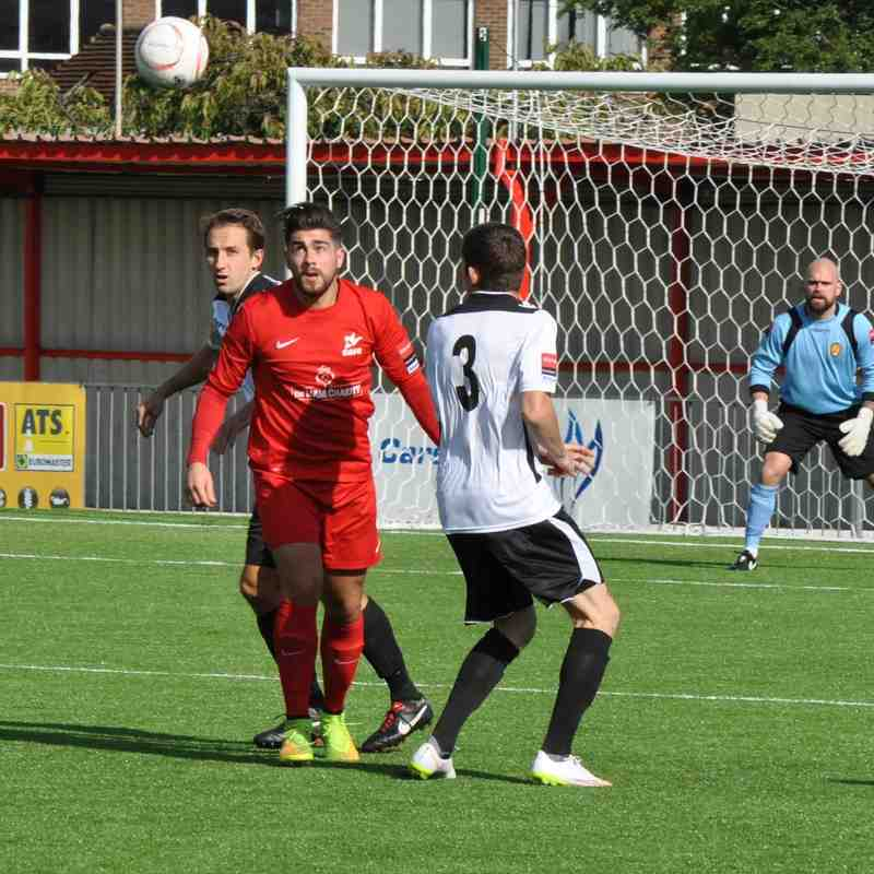 Carshalton Athletic v East Thurrock Utd - FA Cup - 26 September 2015