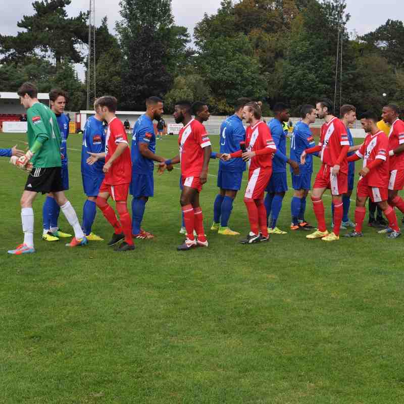 Chatham Town v Carshalton Athletic - 10 October 2015