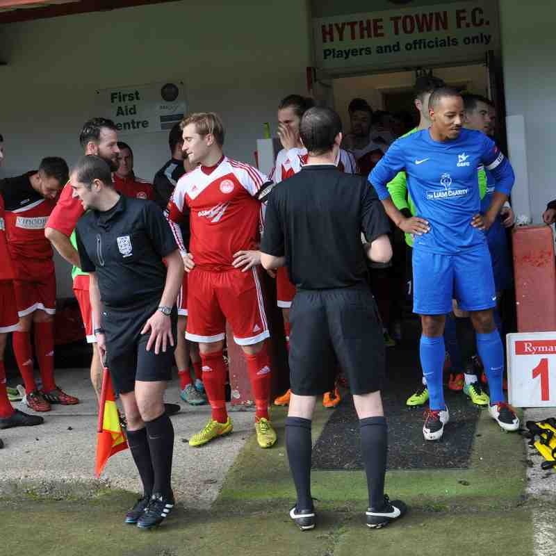 Hythe Town v Carshalton Athletic - 24 October 2015