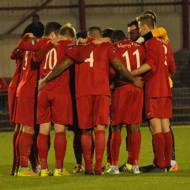 Carshalton Athletic v Guernsey - 26 October 2015