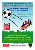 Mcdonalds FA Community Fun Day