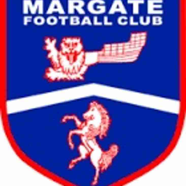 Manager and first team quartet leave Margate