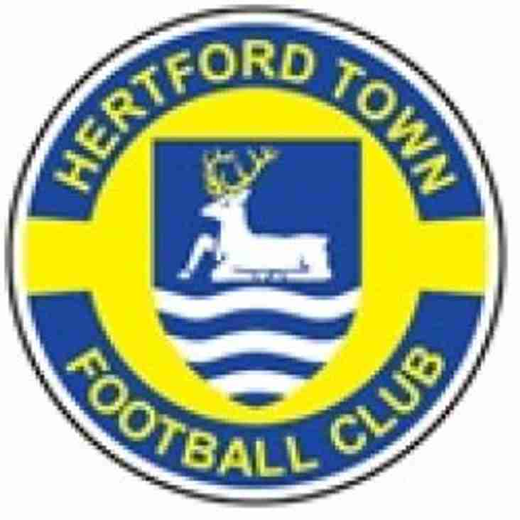 Hertford see last season's keeper head to Salford City
