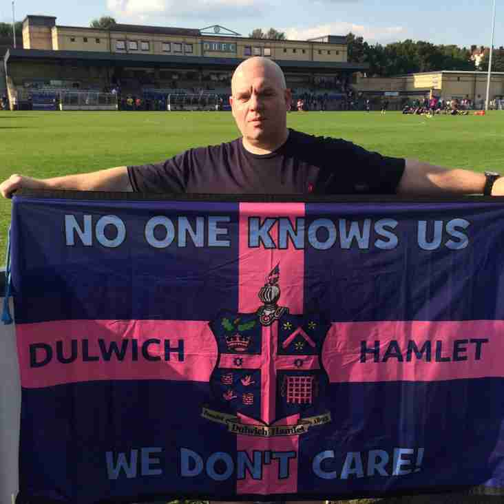 It's better down below-  Gary McGetrick, Dulwich Hamlet