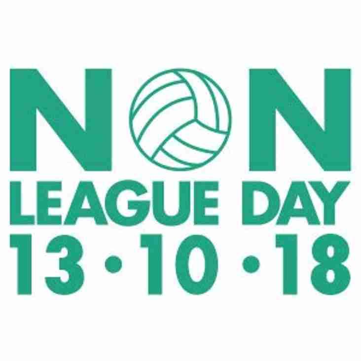 Non League Day- Premier Division activities