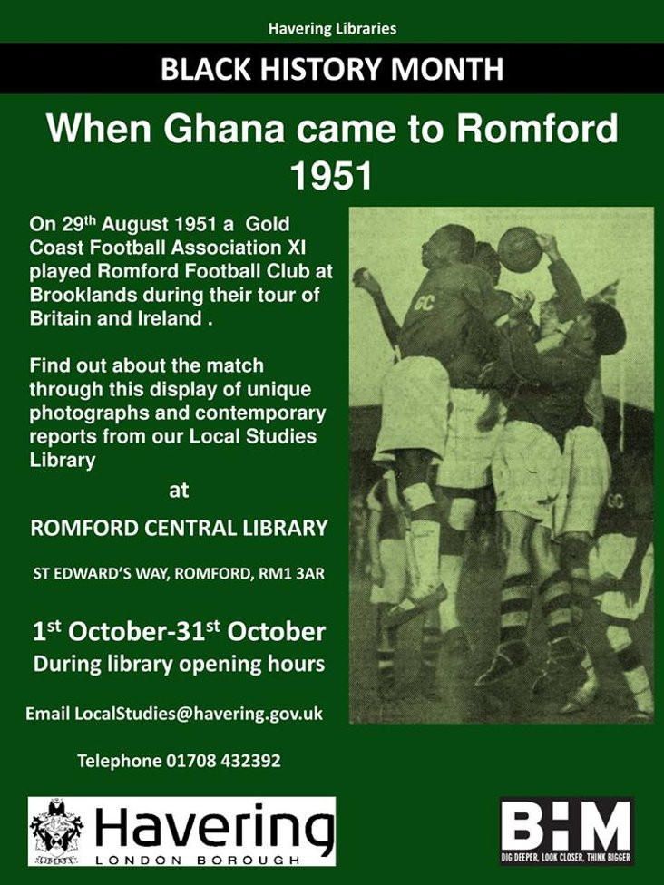 Romford Library Exhibition