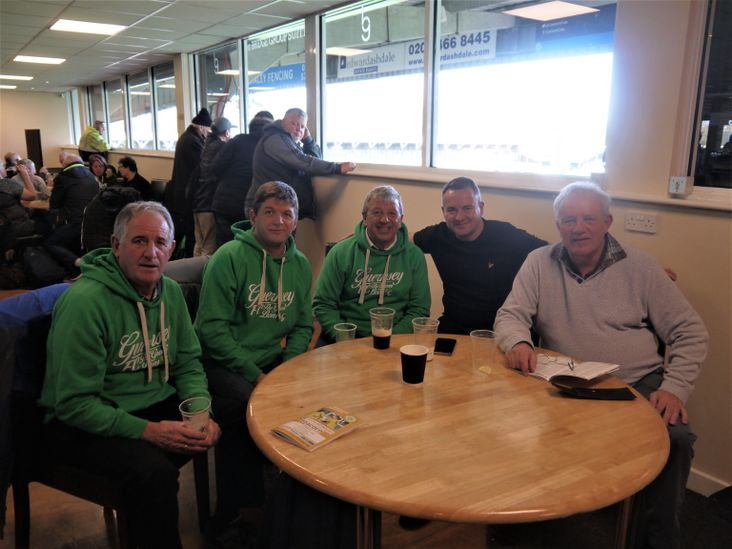 Steve, Mark, Ray, JP and Dave of Guernsey