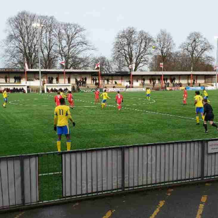 Bostik Blog: Robins give Borough the blues