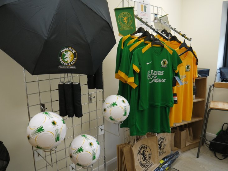 The new club shop