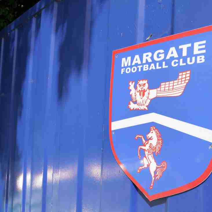 Margate bring in Hythe defender- as player and Assistant Manager