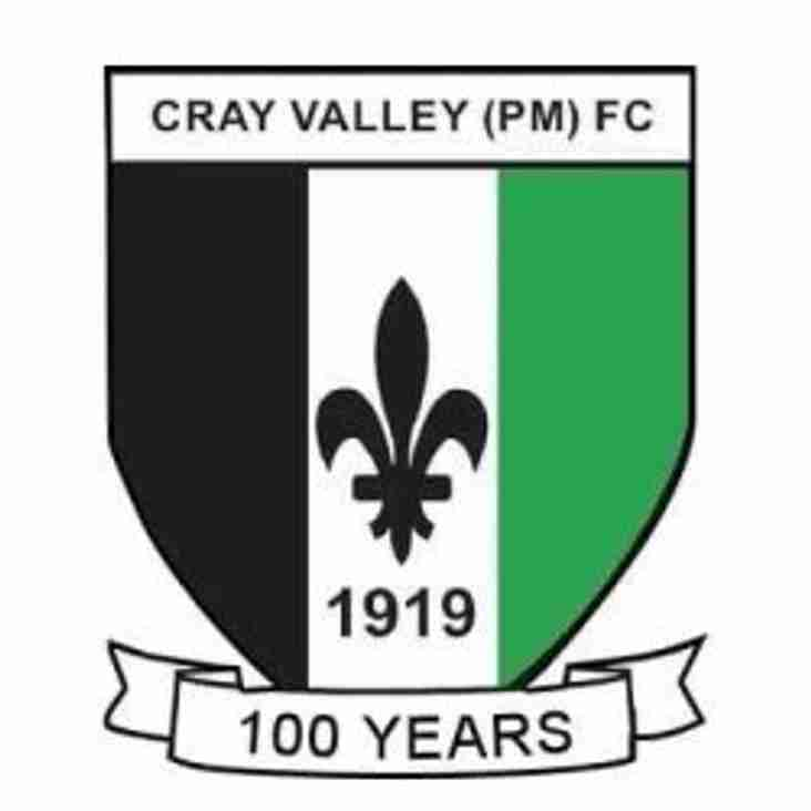An impressive Sunday morning duo for Cray Valley
