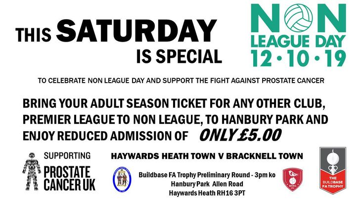 Haywards Heath Town NLD19 poster