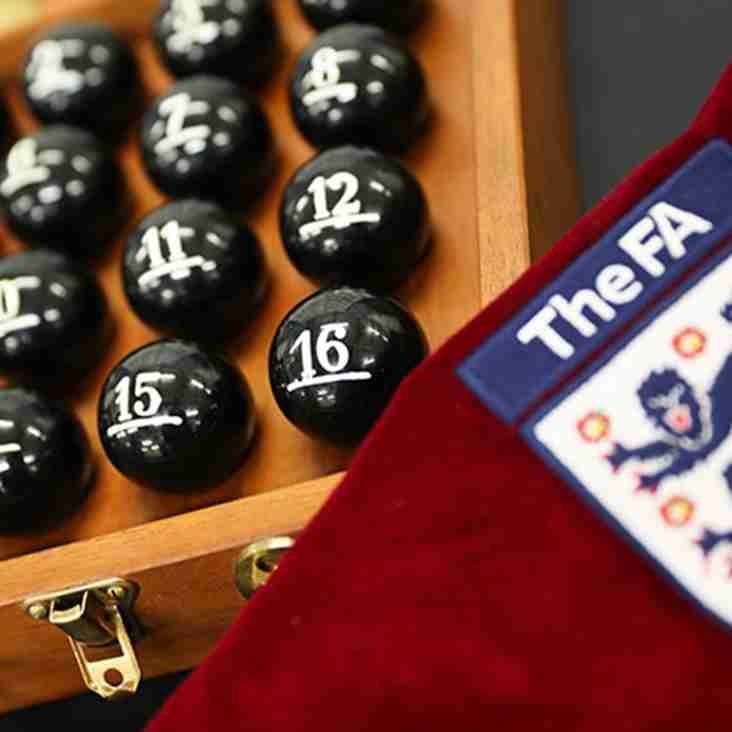 FA Cup Second Qualifying Round- draw made