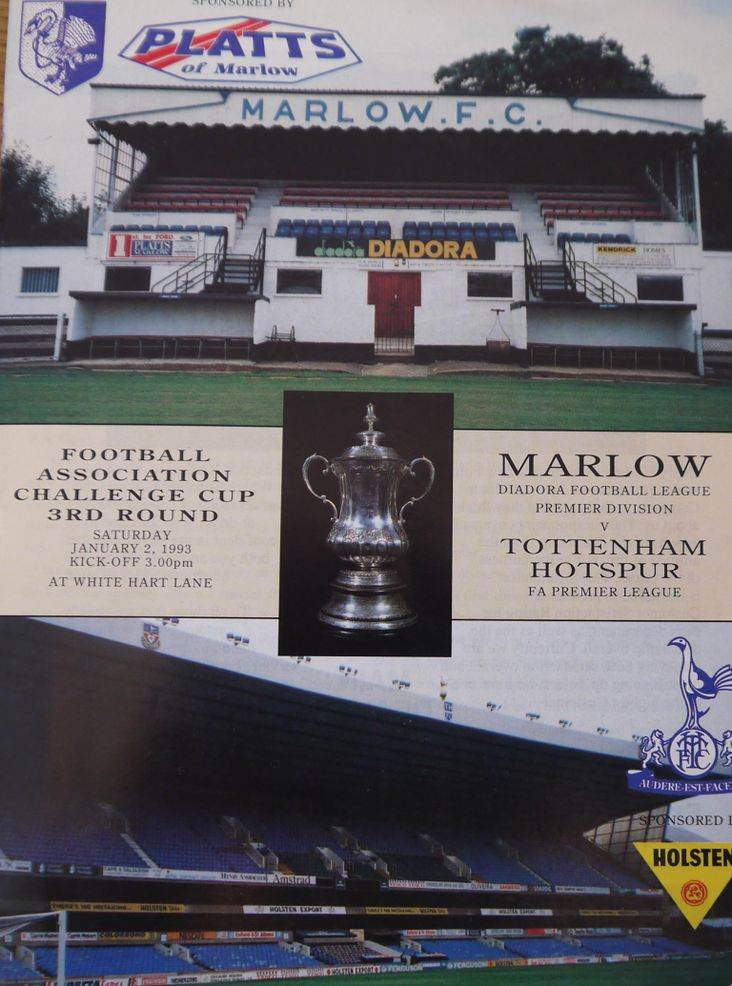 Marlow v Spurs- the cover