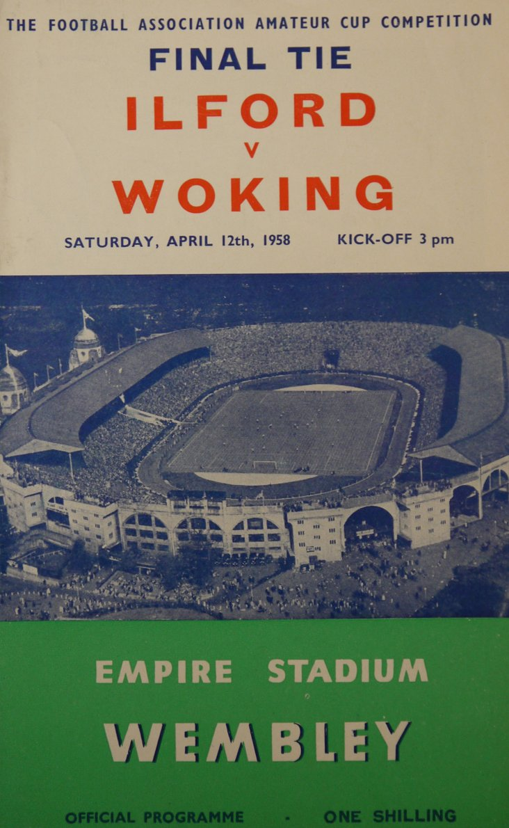 Amateur Cup Final cover, 1958