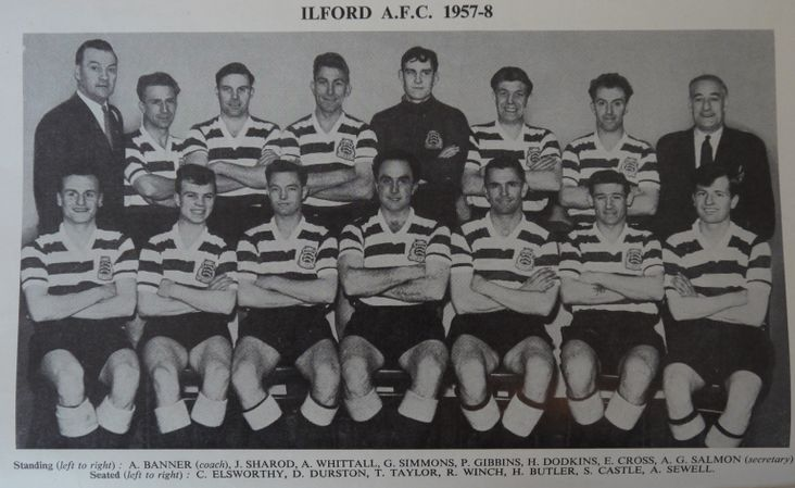 Ilford FC, 1958