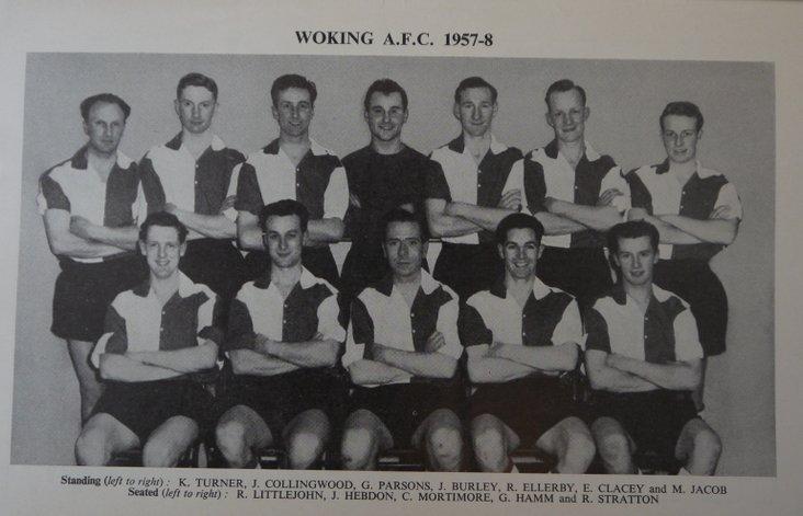Woking FC, 1958