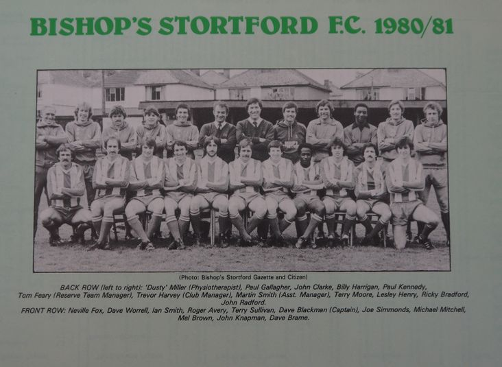 Bishop's Stortford 1980-81