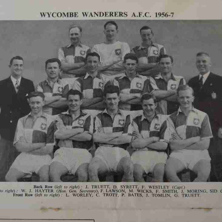 Programmes and moving pictures: Wycombe Wanderers v Bishop Auckland, 1957