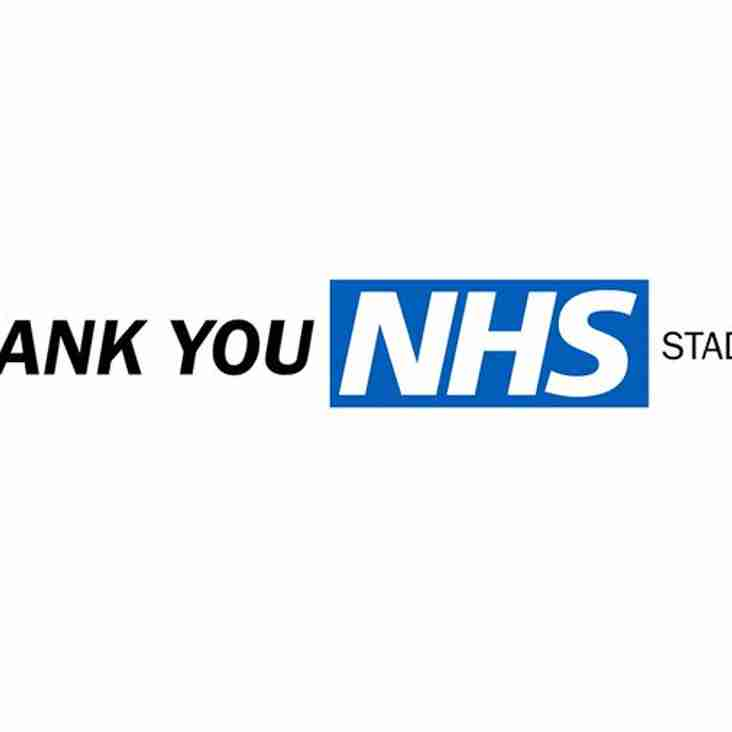 Heath rename their stadium in honour of our frontline medics