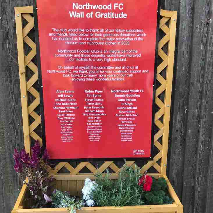 Northwood celebrate Ground Grading success