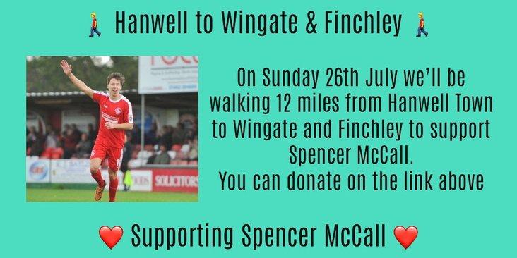 Hanwell sponsored walk