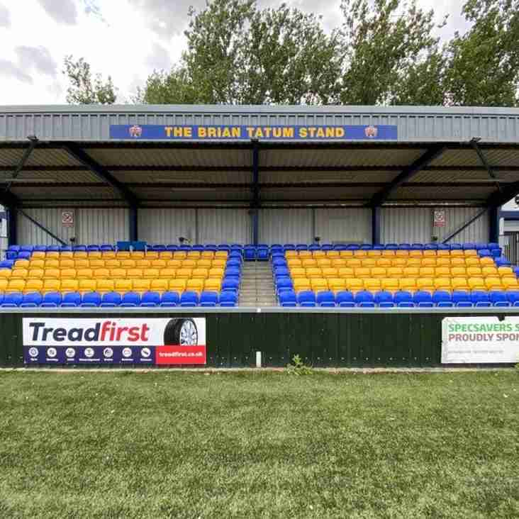 Yellows complete their stand upgrade