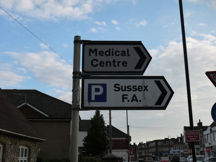 This is the way, to the Sussex FA