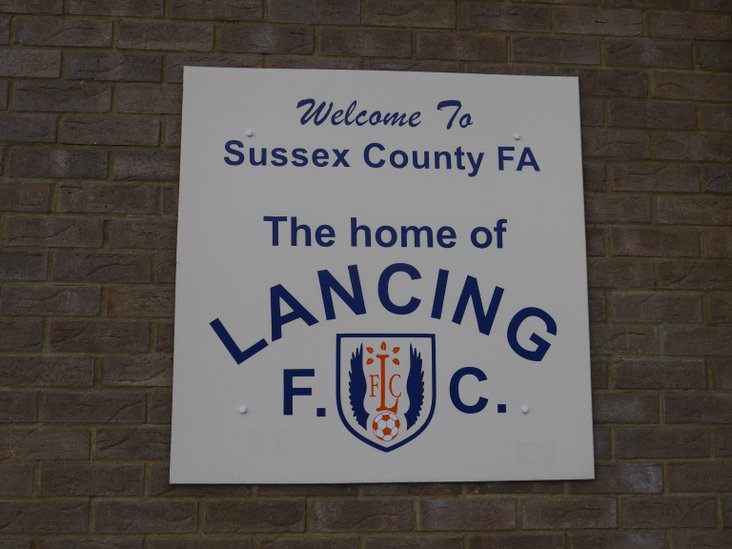 Wecome to the home of Lancing FC