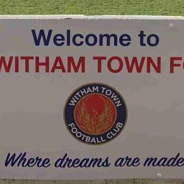 Witham bid to borrow Braintree's fans- and pay them a hire charge!